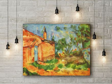 Paul Cezanne: Le Cabanon de Jourdan. Fine Art Canvas.